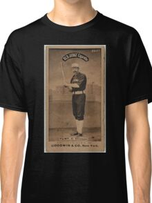 Benjamin K Edwards Collection Silver Flint Chicago White Stockings baseball card portrait Classic T-Shirt