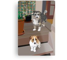 Tommy and Ned Metal Print