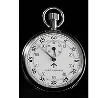 Time ticking by Photographic Print