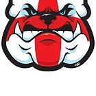 England Bulldog by Tom Fulep