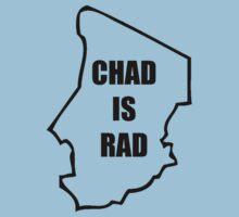 Chad Is Rad - Black Kids Clothes
