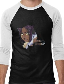 yoruichi bleach  Men's Baseball ¾ T-Shirt