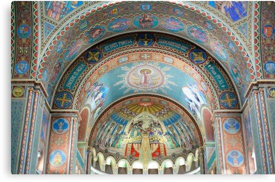 Votive Church of Szeged by milena boeva