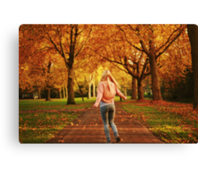You got me on my toes Canvas Print