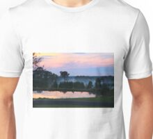 Misty Sunset Unisex T-Shirt