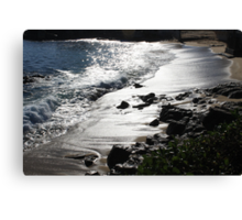 Just an awesome view of the beach. Canvas Print