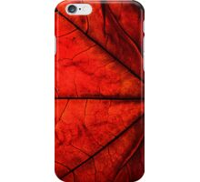 Autumn Red i iPhone Case/Skin