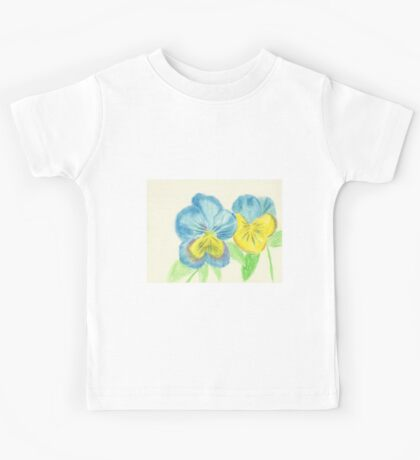 Pansies Kids Tee
