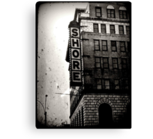 why not stay at the Bates-I mean, Shore motel?  Canvas Print