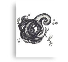 littleTscribble #10 Canvas Print