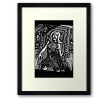 House of Zombies Framed Print