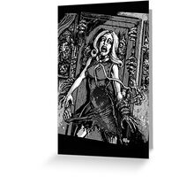 House of Zombies Greeting Card