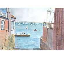Between Houses, Cowes Photographic Print