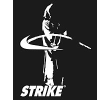 STRIKE NIKE (dark backgroung) Photographic Print
