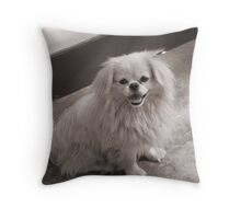 Yap! Throw Pillow