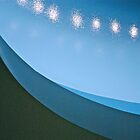 Blue curve by richard  webb