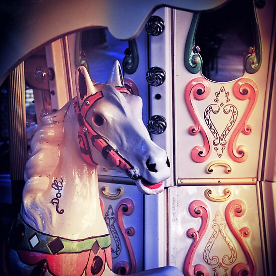Carousel horse by Silvia Ganora