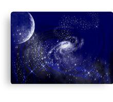 Galaxys Canvas Print