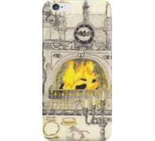 A Dining Room In A Medieval Castle iPhone Case/Skin