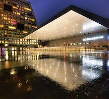 Rink Reflections by Luke Griffin