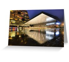 Rink Reflections Greeting Card