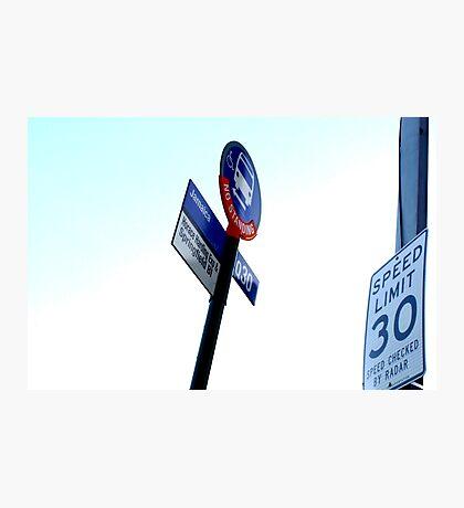 30/30 Photographic Print