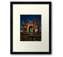 Pending Demolition Framed Print