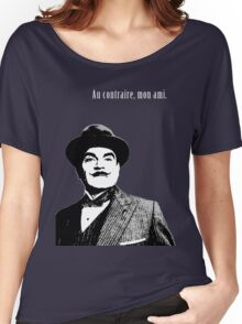 Hercule Poirot Women's Relaxed Fit T-Shirt