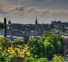 Old Calton Burial Ground by Tom Gomez