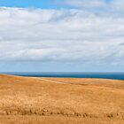 Dry Hills, Clouds and Sea by Ben Cordia