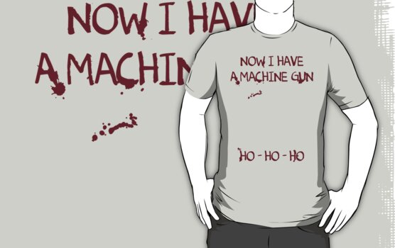 Die Hard: Now I have a machine gun Ho Ho Ho by dutyfreak