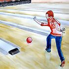 Bowling boy. by AgnesHekla