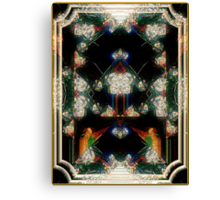 Triumph - Card XII from The Tarot of Flowers Canvas Print