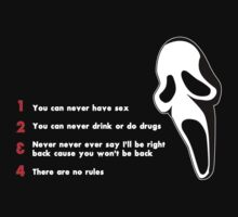 Scream: Randy´s rules by dutyfreak