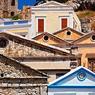 Circles and triangles  - Symi island by Hercules Milas