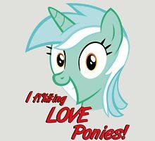 I occasionally enjoy Ponies Unisex T-Shirt