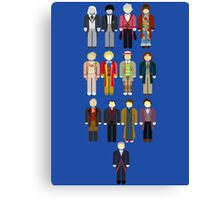 Doctor Who Minimalist Canvas Print
