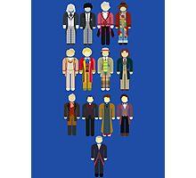 Doctor Who Minimalist Photographic Print