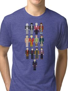 Doctor Who Minimalist Tri-blend T-Shirt