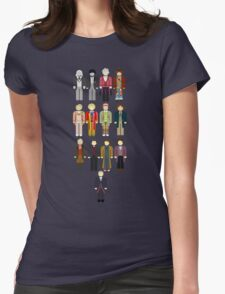 Doctor Who Minimalist Womens Fitted T-Shirt