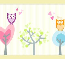 Love owls by nomielboim