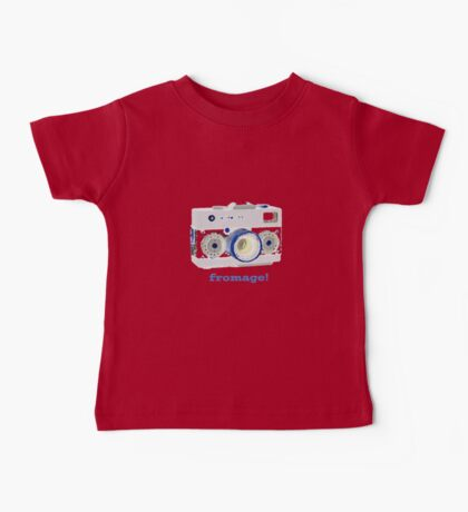 say fromage Baby Tee