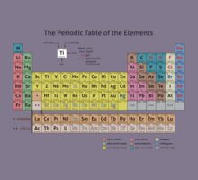 Periodic Table of the Elements  Kids Tee
