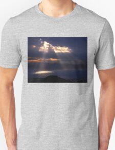 Natural spotlights at the Messenian Gulf Unisex T-Shirt