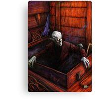 Dracula Nosferatu Vampire Canvas Print