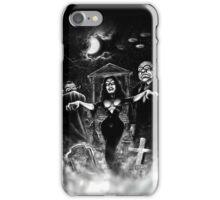 Vampira Plan 9 zombies iPhone Case/Skin