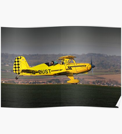 Yellow Starduster Poster