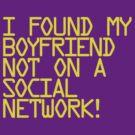 I found my boyfriend... by Laser67