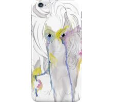 Watercolour woman iPhone Case/Skin