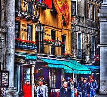 Verona street scene by Matthew Laming